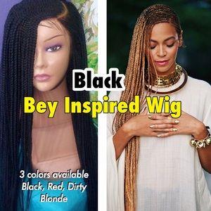 """Black lemonade bey braid wig 22""""+"""